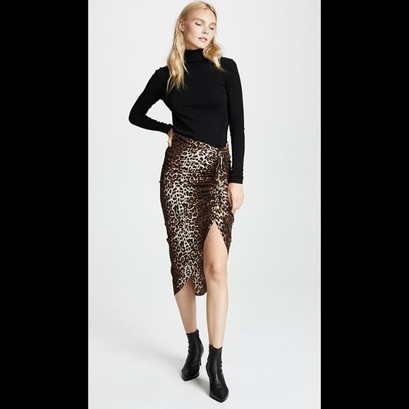 f6b14a7e7f01 New Veronica Beard Ari Leopard skirt. M_5c742361aa8770b6f3d1b7d4